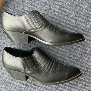 Vintage MaineWoods ankle cowboy booties